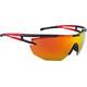 Alpina Eye-5 Shield CM+ Glasses black-red